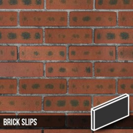 Rustic Red Cut Face Brick Slips