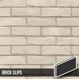 Manhattan White Brick Slips