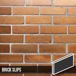 Heritage Soft Orange Reclaimed Brick Slips