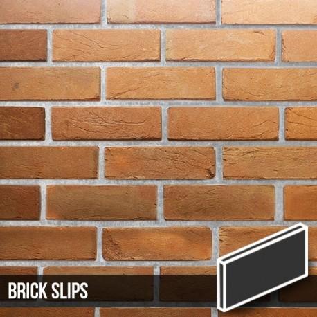 Heritage Soft Orange Reclaimed Brick Slips