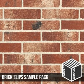Fenland Red Brick Slip - Sample