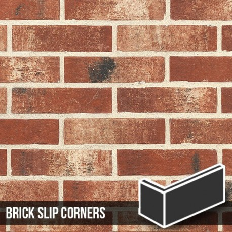 Fenland Red Brick Slip Corners
