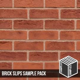 Hastings Red Blend Brick Slip - Sample