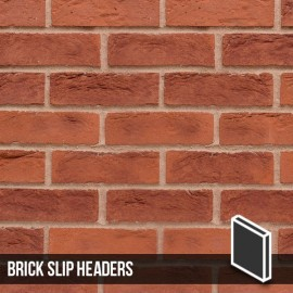 Hastings Red Blend Brick Slip Header