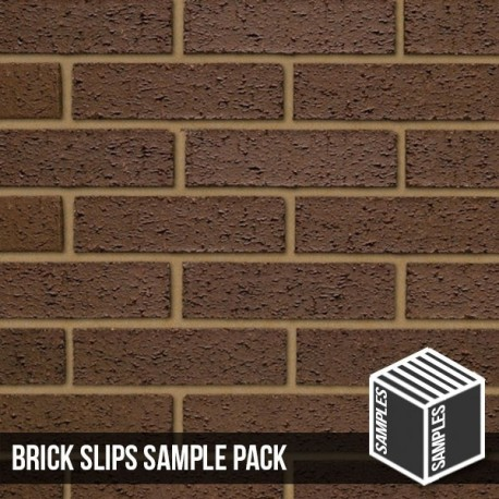 Brown Rustic Brick Slips
