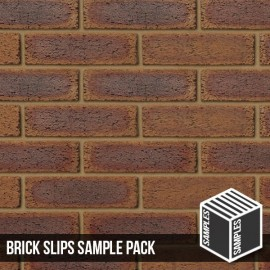 County Rustic Brick Slip - Sample