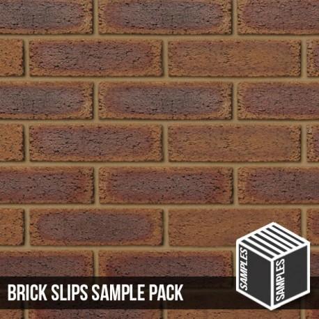 County Rustic Brick Slip - Sample