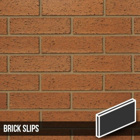 Red Rustic Brick Slips