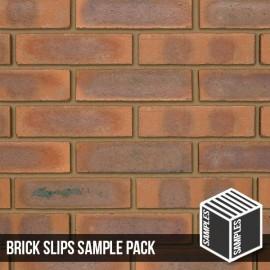 Smooth Mixture Brick Slips - Sample