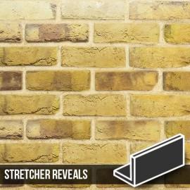 London Reclaimed Stock Brick Slip Stretcher Reveal