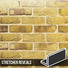 London Reclaimed Stock Brick Slip Stretcher Reveal