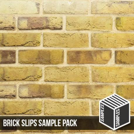 London Reclaimed Stock Brick Slip - Sample