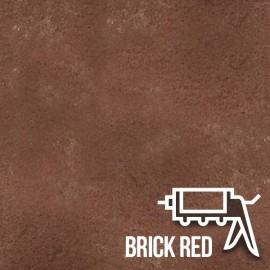 Brick Red Brick Slips Gun Injected Mortar
