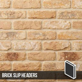 The Sandalwood Brick Slip Header