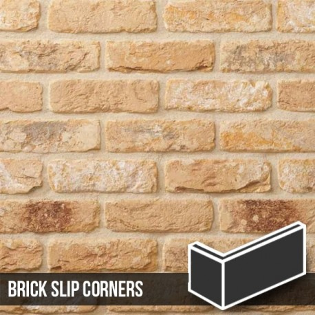 The Sandalwood Brick Slip Corners
