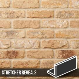New Sandalwood Brick Slip Stretcher Reveal