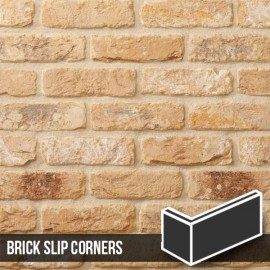 New Sandalwood Brick Slip Corners
