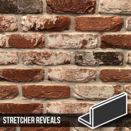 Docklands Red Multi Brick Slip Stretcher Reveal