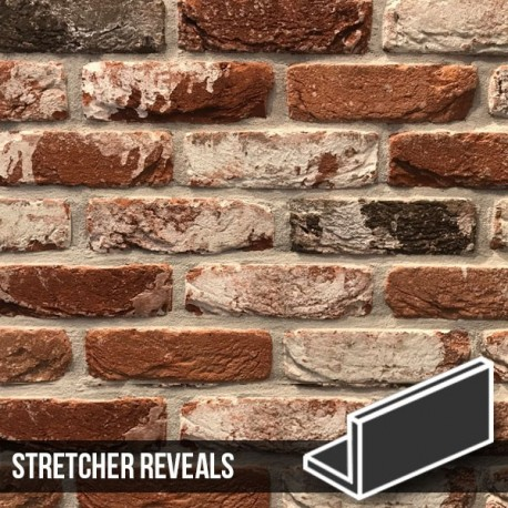 Docklands Red Multi Brick Slips