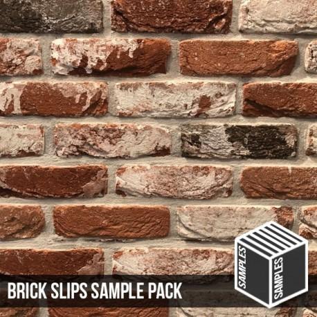 Docklands Red Multi Brick Slip - Sample