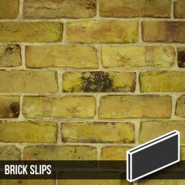 Reclamation Yellow Stock Brick Slips