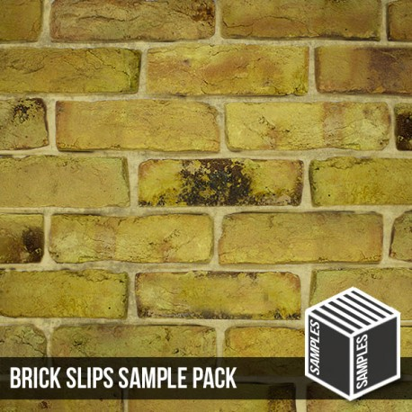 Reclamation Yellow Stock Brick Slip - Sample