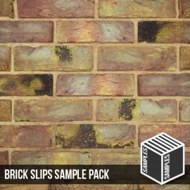 Reclaimed Coach House Brick Slip - Sample
