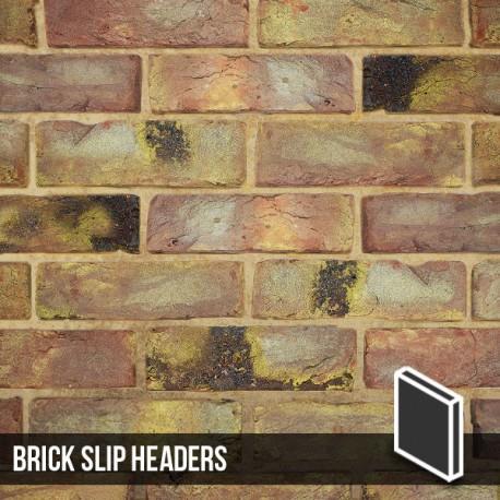 Reclamation Yellow Stock Brick Slip Header