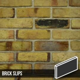 Reclaimed Weathered Yellow Brick Slips