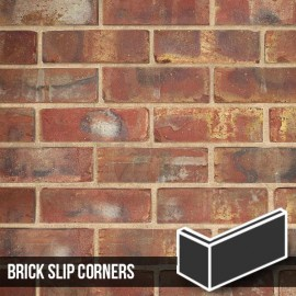 Olde Victorian Red Blend Brick Slip Corners