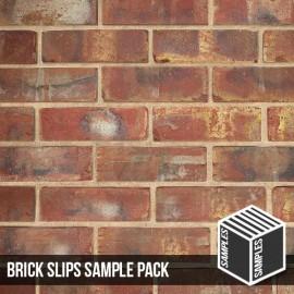 Olde Victorian Red Blend Brick Slip - Sample