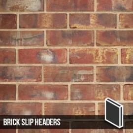Olde Victorian Red Blend Brick Slip Headers