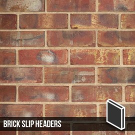 Olde Victorian Red Blend Brick Slip Headers