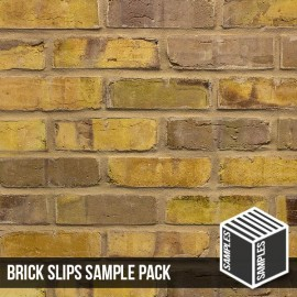Olde Victorian Yellow Blend Brick Slip - Sample