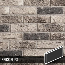 Atom Grey Brick Slips