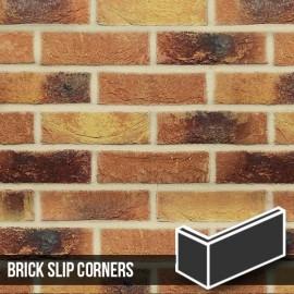 Lambeth Mixture Brick Slip Corner style