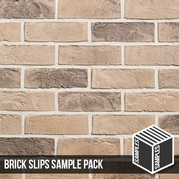 Kensington Buff Multi Brick Slip Sample