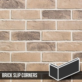 Kensington Buff Multi Brick Slip Corners