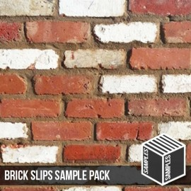 Olde Victorian Mixture Brick Slip - Sample