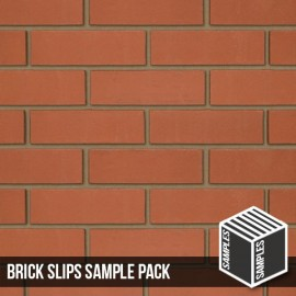Smooth Red Brick Slip - Sample