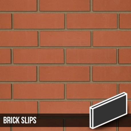smooth red brick slips. Black Bedroom Furniture Sets. Home Design Ideas