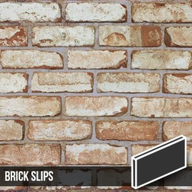 Olde Victorian Reclaimed White Brick Slips