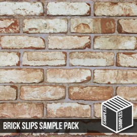 Olde Victorian Reclaimed White Brick Slip Samples