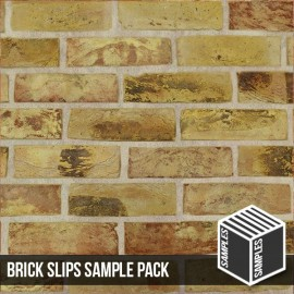 London Reclaimed Yellow Stock Brick Slip - Sample