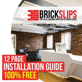 Brick Slips Installation Guide