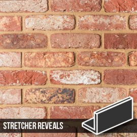 Olde Bayswater Blend Brick Slip Stretcher Reveal