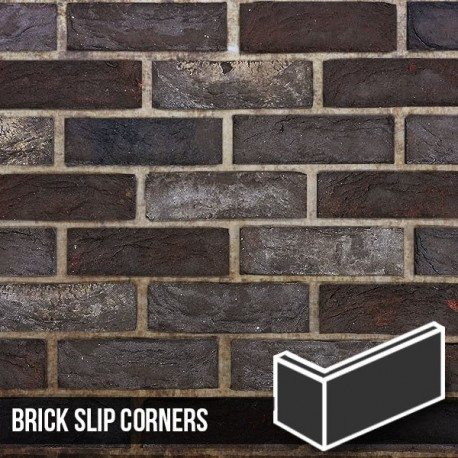 Nero Brick Slip Corners