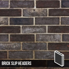 Nero Brick Slip Header