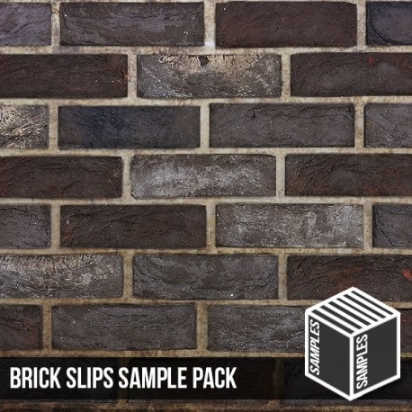 Nero Brick Slip - Sample