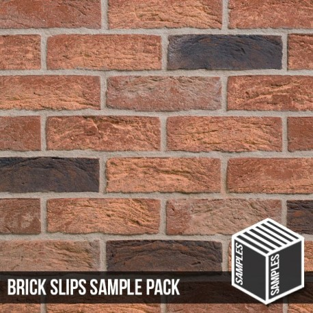 Saxon Brick Slip - Sample